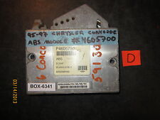 95 96 97 CHRYSLER CONCORDE/DODGE INTREPID ABS MODULE #4605700