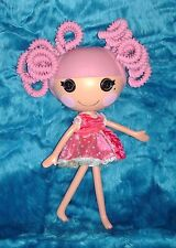 Retired 2010 Lalaloopsy Pink Silly Hair full-size doll--Jewel sparkles