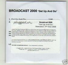 (D438) Broadcast 2000, Get Up and Go - DJ CD