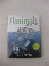 FLANIMALS OF THE DEEP - RICKY GERVAIS - DOUBLE SIGNED UK 1/1 INCLUDES STICKERS