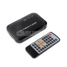Mini 1080P TV Media Player SD MMC Card USB Input YPbPr/RCA/HDMI Output EU