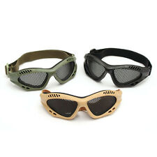 TRIXES Tactical SWAT Airsoft Eye Protection Goggles No Fog Metal Mesh Glasses