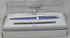 Sheaffer Javelin Blue Fountain Pen In Box - Fine Nib - Japan - 2006 Mint, NOS
