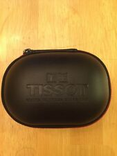 Luxury Black Tissot Watch Travel Box/ Case. New With Pillow And Clean Cloth.
