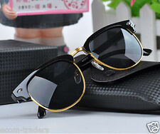 Imported★CLUBMASTER★style RETRO sunglasses/goggles with UV400 lens FOR MEN