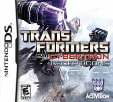 TRANSFORMERS: WAR FOR CYBERTRON Decepticons NEW Nintendo DS GAME