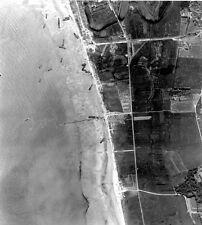 7x5 Gloss Photo ww75F Normandy D-Day Jb Juno Beach Vue Aerienne