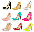 Ladies Sexy Pointed Toe Stiletto High Heel Party Pumps Court Shoes UK 3-9 #621