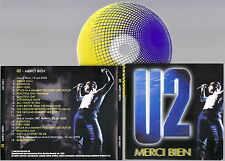 U2 - Merci Bien Live Paris, London, Stockholm 2000 CD New Very RARE