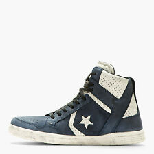NIB $170 Converse by John Varvatos Weapon Mid Dark Denim US Mens 9.5
