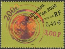 France 1999 Millennium/New Year/Greetings/Seasonal 1v (n45344)