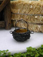 Miniature Dollhouse FAIRY GARDEN ~ TINY Acorn Basket ~ NEW