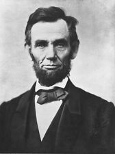 """Abraham Lincoln The 16th President of the United States Silk Poster 32"""""""