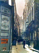 Autochrome Photo, Rue Inconnue, Paris, early 1900s