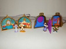 Polly Pocket Disney Hunchback and Aladin Lockets