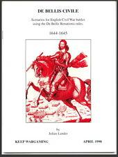De Bellis Civile 1644-1645 English Civil War Scenarios