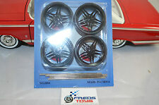 1:18 scale OR Bigger BK Wheels and Tyre set ( 4 pcs ) suitable FOR model car