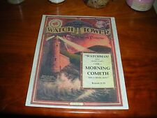 1912 COLOR Watch Tower Watchman What of the Night Jehovah Pastor Russell IBSA