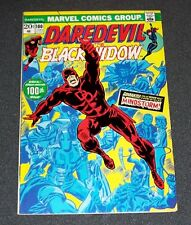 1973 Here Comes... DAREDEVIL & the BLACK WIDOW # 100-vf+ Mindstorm!