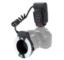 US Meike Mcoplus MK-14-EXT E-TTL Macro TTL ring flash AF assist lamp For Canon