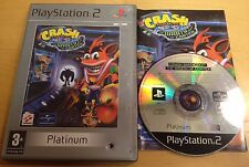 CRASH BANDICOOT THE WRATH OF CORTEX PS2 & (60GB VERSION OF PS3 ONLY) COMPLETE