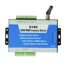 GSM MMS Quad-Band Alarm Controller External Weatherproof Camera Security S180