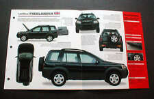 1998 LAND ROVER FREELANDER 1.8i UNIQUE IMP BROCHURE '98