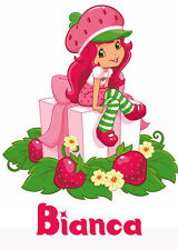Strawberry Shortcake gift Iron-On T-Shirt Transfer w/FREE Personalization