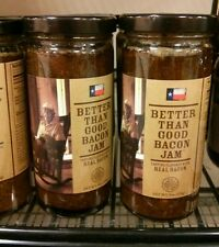9 oz Better than good bacon jam lot of 2 free shipping! 2016
