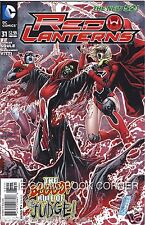 DC Comics New 52 RED LANTERNS #31 Near Mint Bagged Boarded 1st Print SUPERGIRL