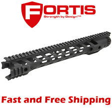 "Fortis MFG Night Rail M-LOK System-14"" Free-Float Handguard & Mounting Hardware"