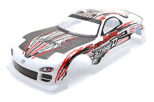 RCG Racing Mazda RX-7 Stage D Body Shell White 190mm S031W