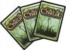 Call Of Cthulhu CCG Lot of 60 Random Cards 20 Uncommon 40 Common FFG