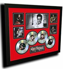 ELVIS PRESLEY THE KING SIGNED LIMITED EDITION FRAMED MEMORABILIA