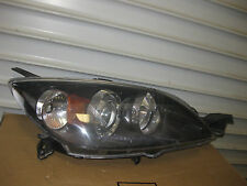 2004-2009 MAZDA 3 HATCHBACK ONLY PASSENGER  RIGHT OEM  HEADLIGHT  FACTORY