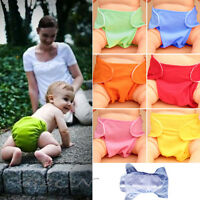 Baby Nappies Soft Adjustable Reusable Washable Leakproof Cloth Nappy Diaper Top