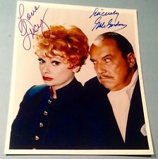 Lucille Ball & Gale Gordon Autograph photo COA