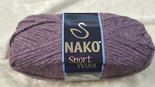 Nako Sport Wool Chunky #23331 Grape 100g Wool & Acrylic
