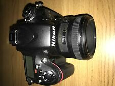 Nikon D610 24.3MP Camera - Black with Nikon AF-S NIKKOR f/1.8G Lens 50mm