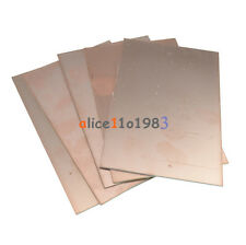 Imported 5PCS 10*15cm 10cmx15cm Single PCB Copper Clad Laminate Board FR4