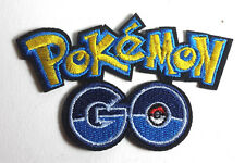 "Pokemon GO Logo 3.5"" Embroidered Patch- FREE S&H (POKPA-04)"