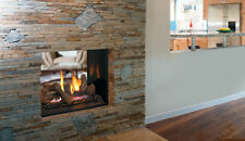 "40"" Superior Signature Series Direct Vent See Through Gas Fireplace"