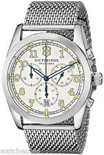 Victorinox 249066 Infantry Silver Dial Stainless Steel Chronograph Men's Watch