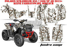 AMR Racing DECORO GRAPHIC KIT ATV POLARIS interferenzaNverso/Trailblazer Tundra CAMO B