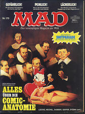 MAD Nr.170 von 1983 - TOP Z1 ORIGINAL BSV COMICHEFT Satire Alfred E.Neumann
