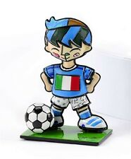 ROMERO BRITTO WORLD CUP MINI SOCCER PLAYER ITALY  NEW ITEM