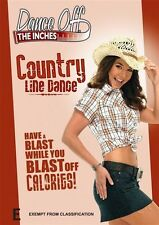 Dance Off The Inches - Country Line Dance (DVD, 2009) New Region 4