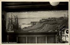 Immenstadt Allgäu alte Postkarte ~1930/40 Teilansicht Weinstube Seehof Gemälde