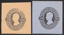 #U208-U209 FULL CORNER CUT SQUARES SUPERB CV $210.00 BR451