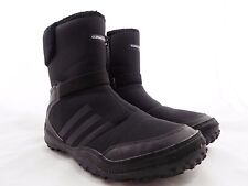 Adidas CLIMAWARM Black Outdoor Boots Zipper Closure // Women's Size 9M